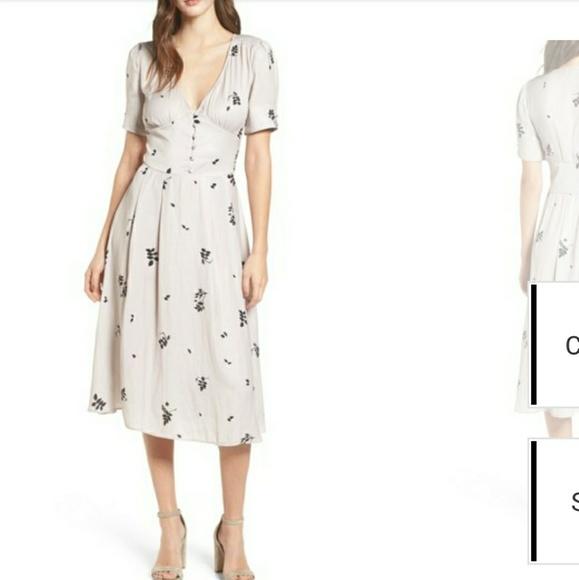 0b1649072eca chelsea28 Dresses | Fit Flare Midi Dress | Poshmark